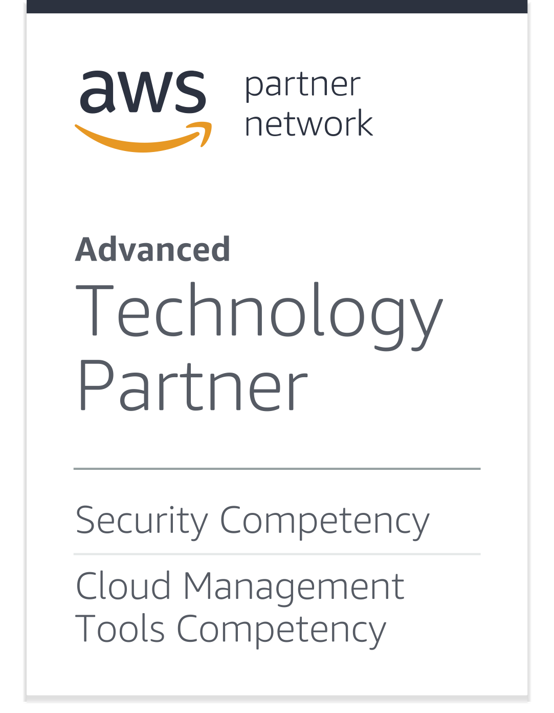 Cloud Conformity is an Advanced Technology Partner, Security and Cloud Management Tools Competency